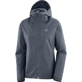 Salomon Outrack Waterproof Jacket Women ebony